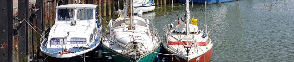 Pfingsten 2018 – Segelausflug nach Hooksiel – Teil 2